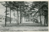 Barracks 312th Infantry, Camp Meade, MD postcard