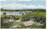 Artillery Practice at Camp Meade postcard