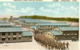 Barracks at Camp Meade postcard