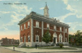 Annapolis Post Office postcard