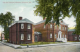 The Old Harwood Mansion, Annapolis, Md. postcard