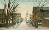 Maryland Ave., from State House, Annapolis Md. postcard