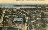 View from Capitol Dome toward Eastport Postcard