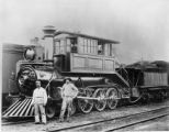 B&O Railroad Class A-B Locomotive (4-6-0)