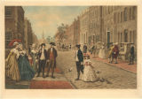 Cator Print 006: Wall Street, New York, 1790