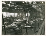 Ercoupe fuselage in various stages of assembly, November 5, 1945