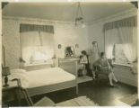 1927 Better Homes Tour showing bedroom for 15-year-old girl