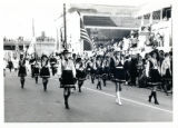 Drill team in parade