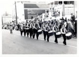 Drumline in parade