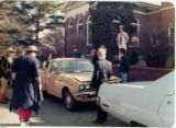 1978 Gilman Students with pickup truck