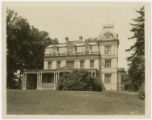 Alto Dale (front), John Franklin Goucher's country home in Pikesville, Baltimore County, Maryland,...