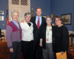 Governor Martin J. O'Malley with Howard County staff