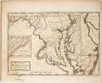1795 - The state of Maryland from the best authorities