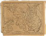 1796 - Map of the states of Maryland and Delaware