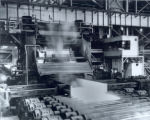 Bethlehem Steel Co., Sparrows Point plant District 15 160' rolling mill, sheared plate