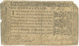 Maryland one-third dollar note, April 10, 1774