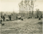 WPA Project Number 15 - Workers constructing athletic field at Baltimore City College