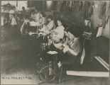 WPA Project Number 136 - Workers using sewing machines at a training work center in Hagerstown