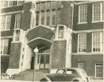 WPA Project Number 15 - View of school entrance in Baltimore