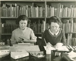WPA Project Number 123 - Book repair at the Enoch Pratt Free Library in Baltimore, workers...