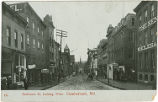 Cumberland,  Maryland, 1908 : Baltimore Street looking west