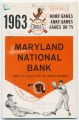 Baltimore Orioles: 1963 home games / away games / games on TV