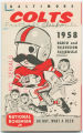 Baltimore Colts: 1958 radio and television schedule