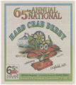 65th Annual Hard Crab Derby and Fair, August 30- September 2, 2012