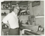 Boat carver, Somerset County, Maryland, circa 1960