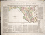 1825 - Maryland (French edition of Lucas' 1822 map)
