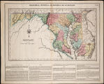 1822 - Maryland - Geographical, Historical, and Statistical Map of Maryland