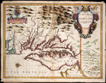 1676 - Map of Virginia and Maryland