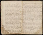 Emily Ann Powell Warrington's annotated diary 1846-1862 pages 020 and 021