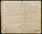 Emily Ann Powell Warrington's annotated diary 1846-1862 pages 036 and 037
