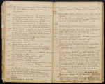 Emily Ann Powell Warrington's annotated diary 1846-1862 pages 048 and 049