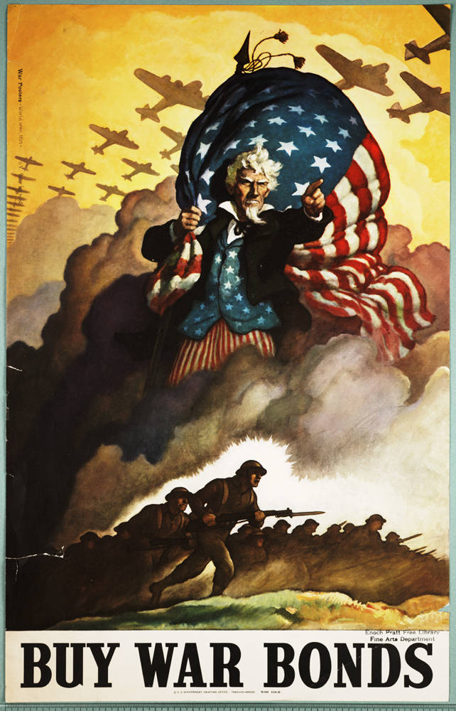 Buy War Bonds War Posters Enoch Pratt Free Library Digital Maryland