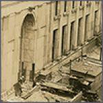 Construction Photos of Enoch Pratt Central Library